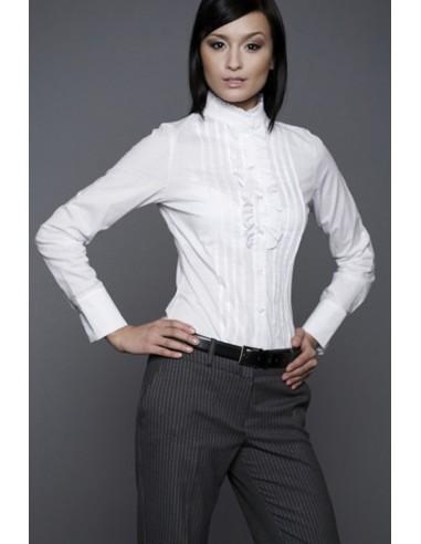 Ženska elegantna srajca z dolgimi rokavi K05