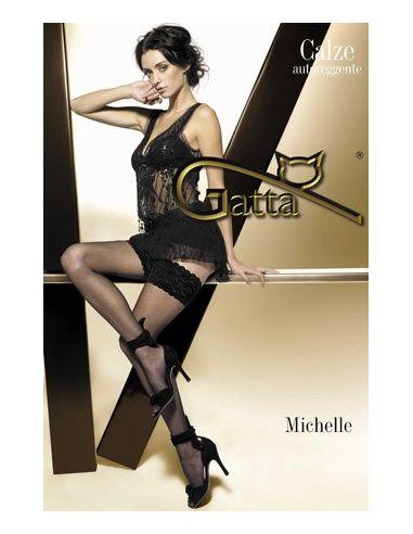Gatta Michelle 01 ženske samostoječe nogavice