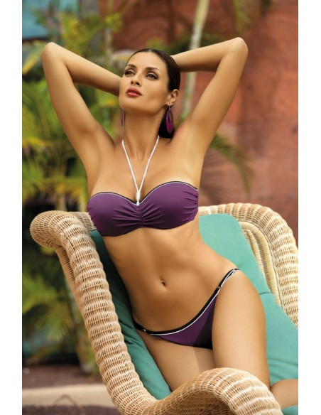 Kopalke Andrea Eggiplant M-193 vijolična (164)