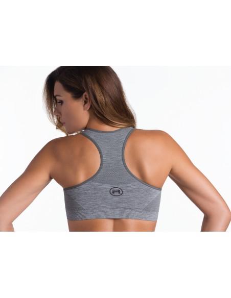 Ženski sportski top Active fit - melirana