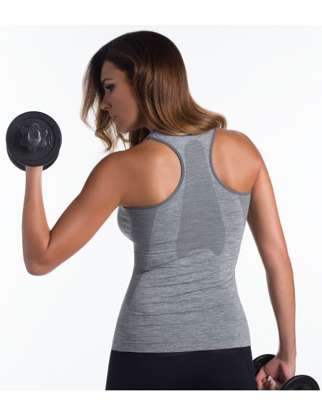 Ženska sportska majica Active fit - melirana